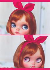 Haru preview (Rinoninha) Tags: eyes doll makeup carving blythe prima custom dolly encore maquillaje boggled gazecorrection rinoninha customcompleto nnelleetlalluli nenelallu aubrine