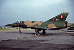 MIRAGE V  BA57 (TF102A) Tags: aircraft aviation mirage belgianairforce miragev