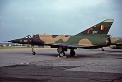MIRAGE V  BA57 (TF102A) Tags: aircraft aviation mirage belgianairforce miragev