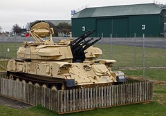 ZSU 23-4 SHIKA ANTI AIRCRAFT SELF PROPELLED VEHICLE MIDDLE WALLOP 2013 (toowoomba surfer) Tags: museum military captured vehicle armouredvehicle middlewallop museumofarmyflying