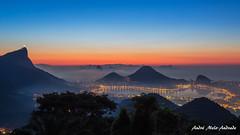 Esperando pelo amanhecer (Waiting for the dawning.) (Andr Melo-Andrade) Tags: brazil azul brasil riodejaneiro landscape cidademaravilhosa hill paisagem bluehour vistachinesa horaazul