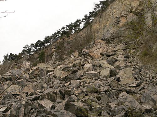 Steinbruch am Spitzberg (Brüx)