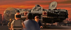You've got a lot of guts coming here, after what you pulled. (hachiroku24) Tags: city cloud photoshop toy star back lego millennium solo empire falcon wars strikes han bespin lando lobot calrrisian