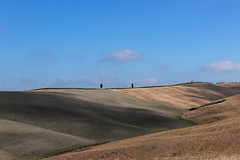 Val D'orcia (jazz_0902) Tags: travel trees sky nature skyline clouds landscape natura tuscany toscana valdorcia tuscan