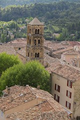 Sonnent les heures ... *----+° (Titole) Tags: moustierssaintemarie toits roof rooftops titole nicolefaton provence alpesdehauteprovence clocher steeple tuiles tiles friendlychallenges 15challengeswinner