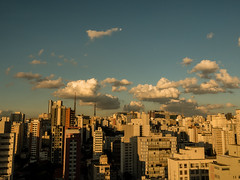(elzauer) Tags: city brazil sky horizontal architecture skyscraper outdoors photography day cityscape br sopaulo citylife nopeople sampa dramaticsky cloudscape urbanskyline capitalcities cloudsky traveldestinations colorimage sopaulostate buildingexterior highangleview
