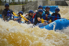 Heading down (radargeek) Tags: whitewater district rafting okc boathouse