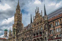 Munich (AaronP65 - A sincere thnx for over 1 million views) Tags: germany munich mnchen bayern deutschland bavaria marienplatz neuesrathaus