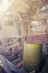 Yacco Drum (| Voiceb[ ]x Photography |) Tags: wood light france rot abandoned sunshine metal rust drum decay oil derelict fallingapart urbex yacco sonynex5 adamvoice