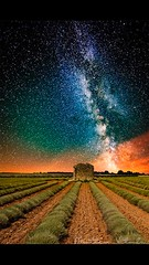 The answer is in the stars (matteovitali) Tags: longexposure shadow france color night canon stars star freedom shoot desert provence inspire tamron milky infinite exsposure milkyway