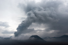 Earth's Fury (Guillaume Desfeux) Tags: sky cloud indonesia volcano java outdoor east mount ashes bromo