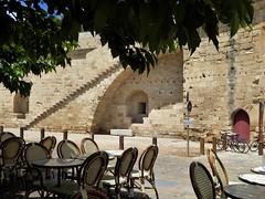 prendiamo un caff (fotomie2009) Tags: francia aigues mortes aiguesmortes france gard languedoc aigas mrtas walls mura ramparts remparts cinta muraria medioevo medievale medioevale mdivale