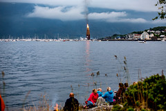 Guinness World Record - From Distance (jforberg) Tags: world party records water norway night fire midsummer guinness celebration bonfire lesund aalesund 2016 slinningsblet