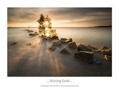 ... Shining Gold ... (liewwk - www.liewwkphoto.com) Tags: sunset nature landscape big slow malaysia shutter pantai jeram selangor haida stopper nisi malayisa remis gnd leefilter photohunter pantaijeram rgnd liewwk liewwknature