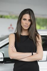 Salone dell'Auto Parco del Valentino - Torino (Davide Barbaro Ph) Tags: auto hair torino stand eyes makeup ferrari salone bella mitsubishi lexus modelle