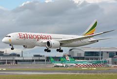 ET-AOU - Ethiopian Airlines B787 ( Adam_Ryan ) Tags: etaou ethiopian ethiopianb787dublinairport ethiopianairlines dub eidw dublinairport 2016 june dreamliner lax losangelas et505