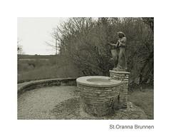 St. Oranna Brunnen (Michel le Blanc) Tags: statue weihnachten brunnen saarlouis saarland kapelle trost heilige hoffnung sarre berus heilung heiligtum berherrn oranna