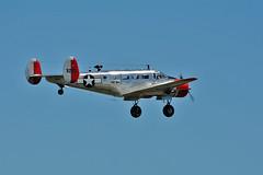 UC-45J Navigator BuNo 39265 (skyhawkpc) Tags: 2016 kftg ftg frontrangeairport watkins colorado co nikon allrightsreserved garyverver copyright commemorativeairforce uc45j navigator 39265 n49265 warbird airshow aircraft aviation