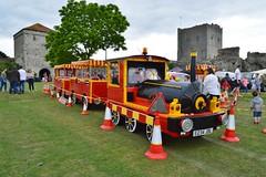 Train (PD3.) Tags: street white castle fun harbour band hampshire lane hart float gala floats fareham portchester hants