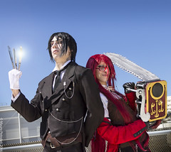 _MG_5143_1 (Mauro Petrolati) Tags: black roma sebastian cosplay butler cosplayer fiera michaelis romics grell