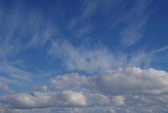 Cumulus and cirrus clouds, Swanbourne Beach, Perth, WA, 20/05/16 (Russell Cumming) Tags: cloud perth cumulus westernaustralia cirrus swanbournebeach