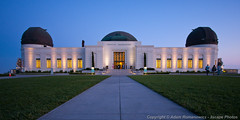 Griffith Observatory at Dusk (3scapePhotos) Tags: california park city travel sunset urban panorama skyline museum architecture modern night landscape lights evening la landscapes office losangeles los cityscape place angeles dusk contemporary famous den cities cityscapes wideangle wallart landmark panoramic illuminated historic livingroom study observatory dome lit griffithpark griffithobservatory griffith familyroom afterglow destinations 3scapephotos
