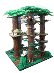 Ewokdorf 05 (KW_Vauban) Tags: starwars lego endor ewokvillage episodevi thereturnofthejedi