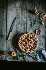 Golden Syrup Peach Pie by Eva Kosmas Flores   Adventures in Cooking (Eva Kosmas Flores) Tags: pie crust dessert peach howto lattice braided