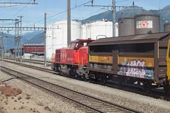 SBB Am 843 011 Cadenazzo (daveymills31294) Tags: am sbb cargo 011 ffs cff baureihe 843 cadenazzo