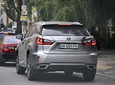 AA4224PA (Vetal 888 aka BB8888BB) Tags: ukraine kyiv aa licenseplates rx lexus    rx200t aa4224pa