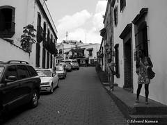 Smoking Break (amuntu) Tags: dominicanrepublic santodomingo street smoking woman man carribean img79641g cigarette break