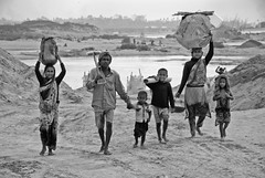 Chain of Poverty (akhlas_viewfinder) Tags: poverty poor dailylife migration sylhet bangladesh childlabor survive poorpeople livelihood stoneworker womenandmen stonelabor stonemining thepooraremorepoor thericharericher migratedrefugee landlesspeople chainofpoverty migratedstonelabor