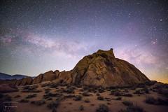 Galactic Dawn (josefrancisco.salgado) Tags: california usa stars dawn us nikon desert unitedstatesofamerica astrophotography astrofotografía astronomy desierto zodiac nikkor constellation scorpius alabamahills escorpio astronomía antares inyocounty themilkyway lavíaláctea 1424mmf28g d810a