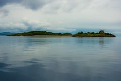Eilean na Cloiche (Dafydd Penguin) Tags: island isle scotland scottish west coast lynn lorn sea water landscape sailboat yacht eilean na cloiche coastal coasting nikon d600 nikkor 50mm af f14d