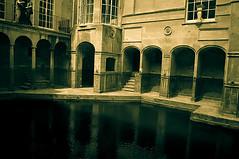 Bath Roman Spa (Brian Travelling) Tags: england water bath pentax roman historic unesco worldheritagesite baths spa queensbath pentaxdal pentaxkr