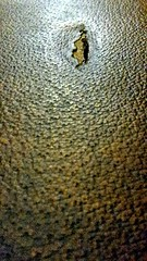 Textura rota (Bonsailara1) Tags: madrid españa macro texture leather spain hole bokeh texturas alcobendas cuero hueco piel bonsailara1