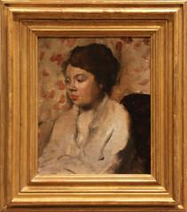 Edgar Degas - Portrait of a Young Woman 1885 (ahisgett) Tags: new york art museum met metropolitian