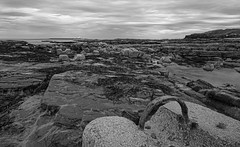 Amble bay (joolst14) Tags: beach landscape d7000 rocks
