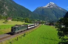 Re 4/4 11161 Silenen (Florian Martinoff) Tags: gotthard re44 silenen zug train summer schweiz swiss railway