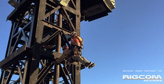 Rope-Access-Tower-Crane-Rescue-Demo-4 (RIGCOMAccess) Tags: sydney towercrane ropeaccess standbyrescue towercranerescue