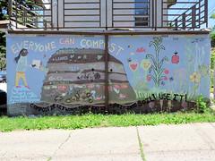 Compost (altfelix11) Tags: nature minnesota alley mural gardening minneapolis compost corcoranneighborhood