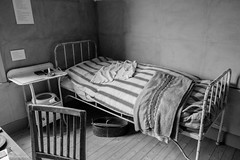 Have a good night sleep... (pineridgephoto) Tags: interir svartvitt