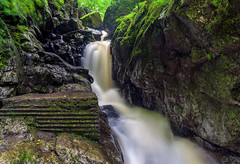 Sgydau Sychryd (absynth100) Tags: river wales uk moss trees water rocks breconbeacons landscape waterfall
