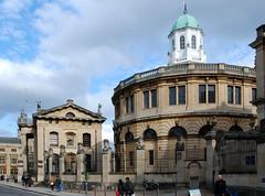 "Sheldonian Theatre and The Clarendon Building, Oxford University (Gook the Goblin) Tags: uk england university oxford hawksmoor library"" building"" ""christopher theatre"" university"" press"" wren"" ""oxford ""nicholas ""clarendon ""sheldonian ""bodleian hawksmoor"""