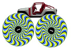 Jeep Wrangler Pork Chop Optical Illusion (lee.ekstrom) Tags: eye beauty perception cool jeep optical pork bach illusion chop trick mopar concept porkchop trippy interactive visual rotating opticalillusion phenomena wrangler psychological trait conceptvehicle jeepfun bayesian visualphenomena visualperception jeepconcept leeekstrom trippppy jeepphotoshop bestopticalillusion wranglerporkchop asymmetricluminance poloschek