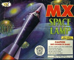MX Space Lamp (Wires In The Walls) Tags: china florence graphics fireworks alabama chinese scanned packaging rocket 1994 outerspace 1990s firecracker guangxi classc mxspacelamp
