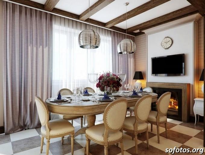 Salas de jantar decoradas (120)