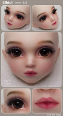 Elfdoll - Amy - NS (Invie Aesthetics) Tags: texture amy ns 14 bjd msd commissions elfdoll faceup