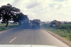 Typical Road Scene QL 4 (Gene Whitmer) Tags: buses vietnam 1972 dinhtuong ql4