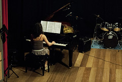 ... 20 anni di musica ... (The girl with the dress) Tags: light music students concert afternoon stage piano flute sage freetime violino associationmusicallyceum